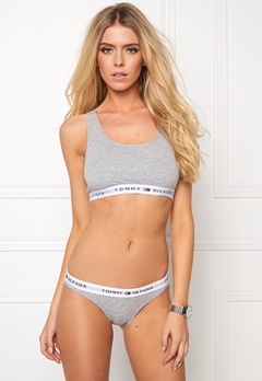 TOMMY HILFIGER Cotton Bikini Iconic 004 Grey Heather Bubbleroom.se