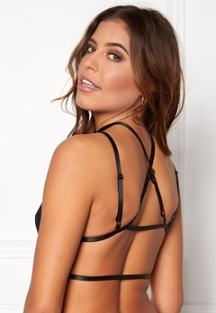 NaaNaa Lace Insert Harness Black Bubbleroom.fi