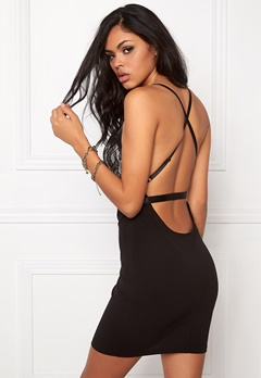 NaaNaa Lace Bust Bodycon Dress Black Bubbleroom.fi