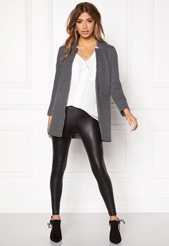 ONLY Mya Soft Blazer Jacket Dark Grey Melange Bubbleroom.eu