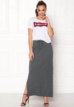 OBJECT Stephanie Maxi Skirt Asphalt Bubbleroom.no