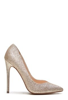 Steve Madden Wicket G Pump Gold Glitter Bubbleroom.se