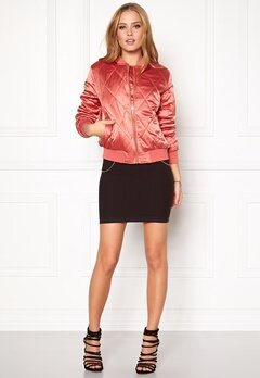 Pieces Haley Bomber Jacket Faded Rose Bubbleroom.se