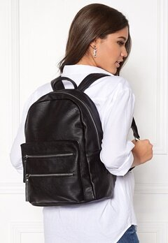 Pieces Maggie Backpack Black Bubbleroom.no
