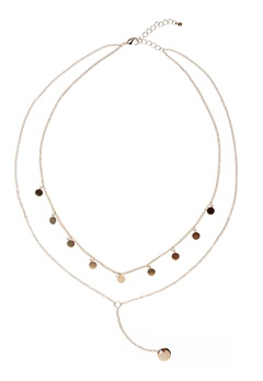 MUSE Ciara Necklace Gold Bubbleroom.se