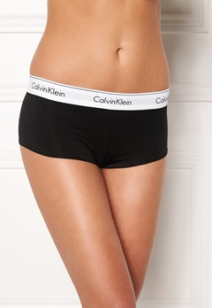 Calvin Klein CK Cotton Boyshort 001 Black Bubbleroom.fi