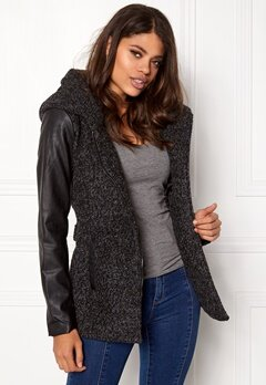 ONLY New Lisford Wool Coat Dark grey melange Bubbleroom.fi