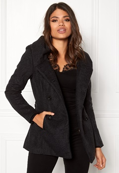 ONLY mary lisa short wool coat Black Bubbleroom.eu