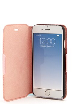iDeal Of Sweden Fashion Wallet Iphone Rosa Bubbleroom.se