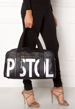 Elly Pistol Weekend babe Bag Svart, Blå Bubbleroom.no