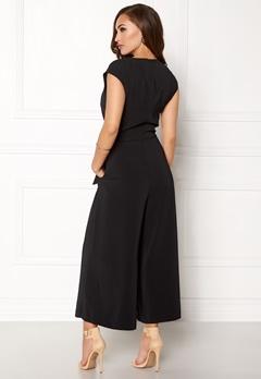 VILA Melis Cropped Jumpsuit Black Bubbleroom.se