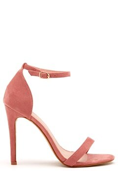 AX Paris Barely There Sandals Blush Suede Bubbleroom.se
