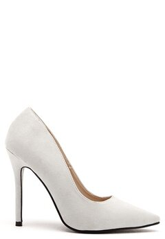 AX Paris Faux Suede Courts Grey Suede Bubbleroom.se