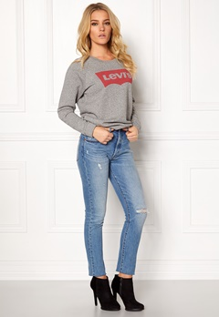 LEVI'S Relaxed Graphic Crew Fleece Batwing smok Bubbleroom.fi