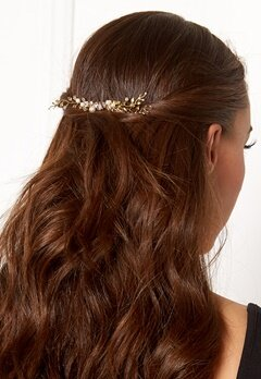 Love Rocks Pearl Hair Jewelry Gold/white Bubbleroom.no