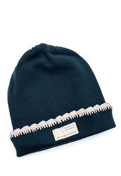 Odd Molly Jitterbug Beanie Blue Ink Bubbleroom.se