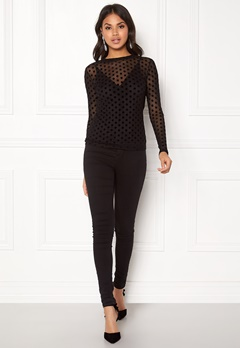 Rut & Circle Camille Dot Top Big Comb Bubbleroom.fi