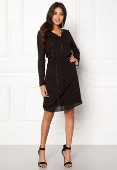 ICHI Caroli Dress Black Bubbleroom.se
