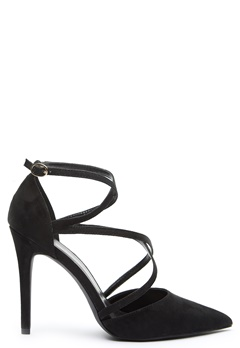 New Look Salvage Strappy Heels Black Bubbleroom.se