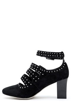 SARGOSSA Magic Black Suede Black Bubbleroom.se