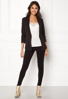 VILA Her 3/4 New Blazer Black Bubbleroom.se