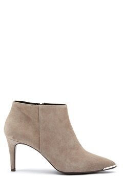 Billi Bi Black Suede High Booties Roma Bubbleroom.se
