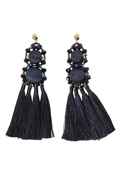 Pieces Dalgas Earrings Navy Blazer Bubbleroom.se
