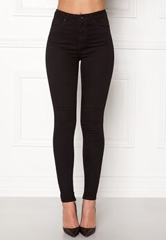 VERO MODA Sophia HW Skinny Jeans Black Bubbleroom.se