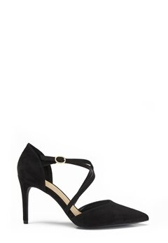 New Look Rexed Strap Point heel Black Bubbleroom.se
