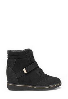 New Look Mudge wedge shoe Black Bubbleroom.se