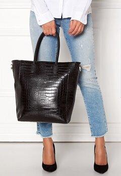 OBJECT Ivy PU Shopper Black Bubbleroom.dk