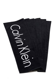Calvin Klein Towel 001 Black Bubbleroom.se