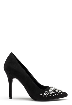 New Look Storm Embellished Heel Black Bubbleroom.se