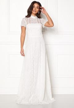 Ida Sjöstedt Siren Dress Ivory Bubbleroom.se