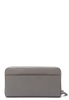COACH Cordion Zip Around Wallet DKHGR Heather Grey Bubbleroom.se