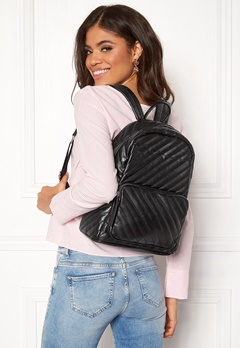 Pieces Malou Backpack Black Bubbleroom.fi