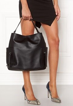 Pieces Ia Bag Black Bubbleroom.fi