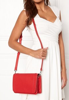 Pieces Iben Crossbody Bag Flame Scarlet Bubbleroom.fi