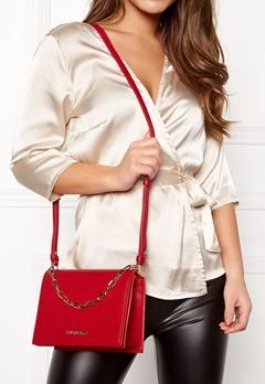 Love Moschino Chain Crossbody Bag 500 Red Bubbleroom.se