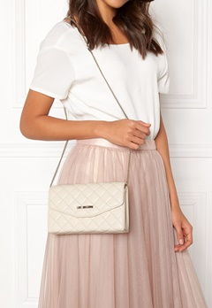 Love Moschino Small Bag 110 Ivory Bubbleroom.se