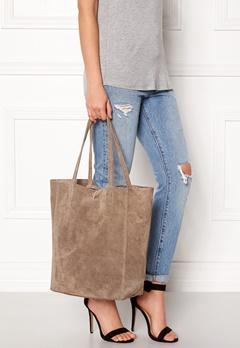 Moda Ex Shopper Bag Taupe Bubbleroom.se