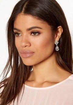 SNÖ of Sweden Noemi Drop Earrings Silver/Clear Bubbleroom.fi