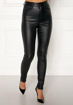 77thFLEA Bianca coated jeans Black Bubbleroom.se