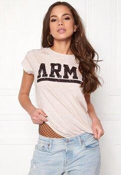 77thFLEA Boston T-shirt Beige melange Bubbleroom.se