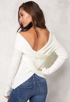 77thFLEA Brixia knitted Sweater Winter white Bubbleroom.eu