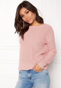 77thFLEA Damaris Sweater Dusty pink Bubbleroom.se
