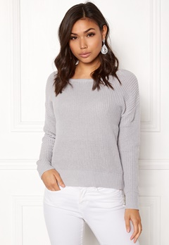 77thFLEA Damaris Sweater Light grey Bubbleroom.se