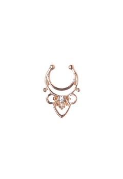 77thFLEA Diamond fake Ring Guld Bubbleroom.se