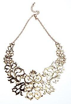 77thFLEA Gold Swir Halsband Guldfärgad Bubbleroom.se