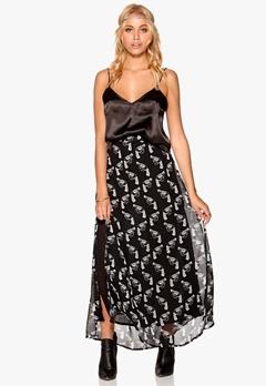 77thFLEA Hanover Skirt Black / White / Print Bubbleroom.eu
